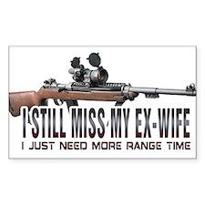 I Still Miss My Ex-Wife Decal