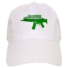 Go Green. No Wood Stocks! Baseball Cap