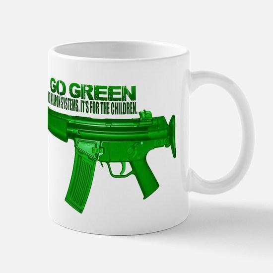 Go Green. No Wood Stocks! Mug