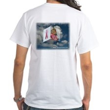 Pink Ribbon T-Shirt (White)