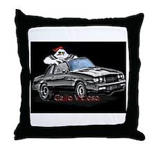 meanchicken gallo vicioso Throw Pillow
