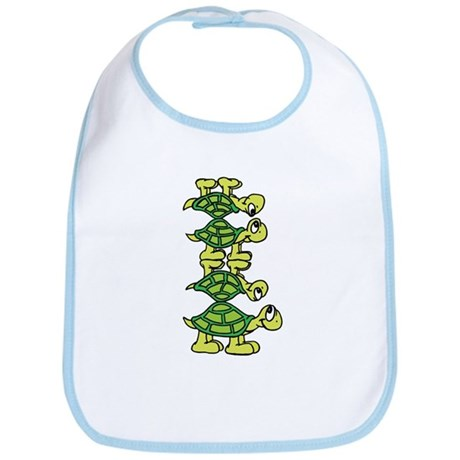 Turtle Stack Bib