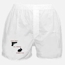 Guns Don't, Rabbits Do Boxer Shorts