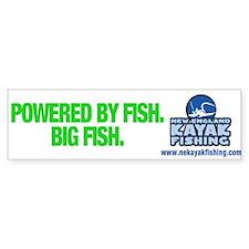New England Kayak Fishing Bumper Bumper Sticker