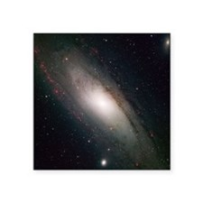 "m31_opt.png Square Sticker 3"" x 3"""