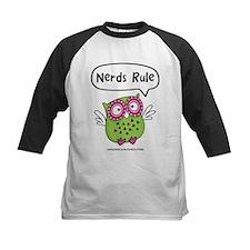 Nerds Rule Owl Baseball Jersey