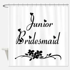 Junior Bridesmaid Shower Curtain