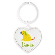 Damion Loves Puppies Keychains