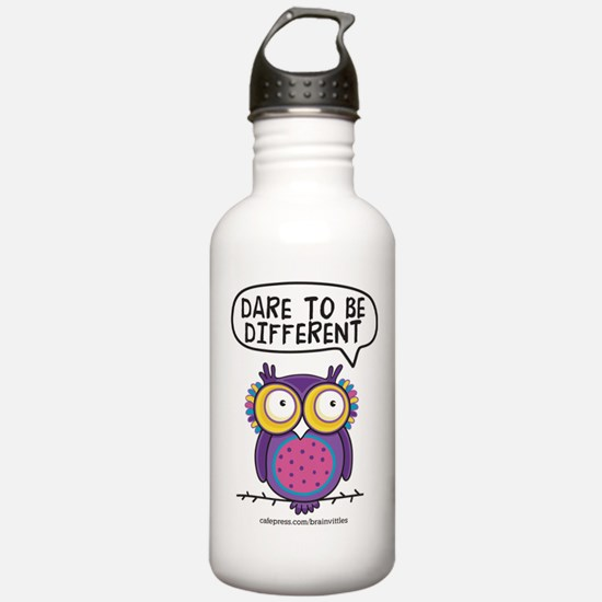 Dare to be different Owl Water Bottle