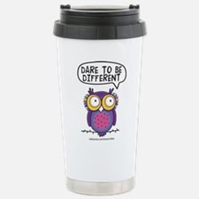 Dare to be different Owl Travel Mug