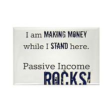 Passive Income ROCKS Rectangle Magnet