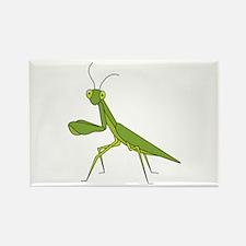 Praying Mantis Rectangle Magnet (100 pack)