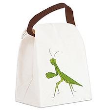 Praying Mantis Canvas Lunch Bag