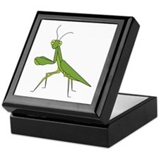 Praying Mantis Keepsake Box