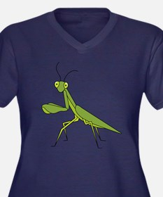 Praying Mantis Plus Size T-Shirt