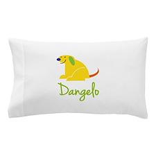 Dangelo Loves Puppies Pillow Case