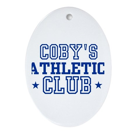 Coby Oval Ornament