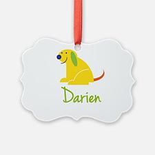 Darien Loves Puppies Ornament