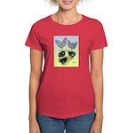 Plymouth Rock Rooster, Hen & Women's Dark T-Sh