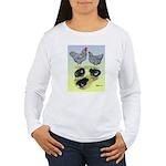 Plymouth Rock Rooster, Hen & Women's Long Sleeve