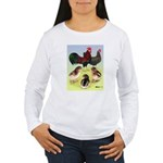 Danish Leghorn Rooster, Hen & Women's Long Sleeve