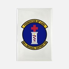 60th Medical Support Rectangle Magnet