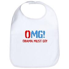 OMG Obama Must GO Bib