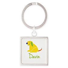 Davin Loves Puppies Keychains