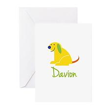 Davion Loves Puppies Greeting Cards (Pk of 10)