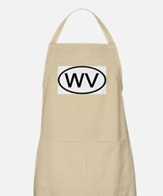 WV Oval - West Virginia BBQ Apron