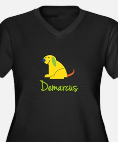 Demarcus Loves Puppies Plus Size T-Shirt