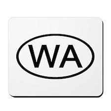 WA Oval - Washington Mousepad