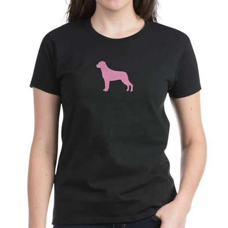 Just Rottweiler Women's Dark T-Shirt
