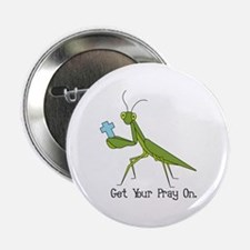 """Get Your Pray On 2.25"""" Button"""