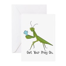 Get Your Pray On Greeting Cards (Pk of 20)