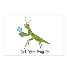 Get Your Pray On Postcards (Package of 8)