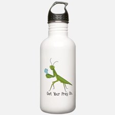Get Your Pray On Water Bottle