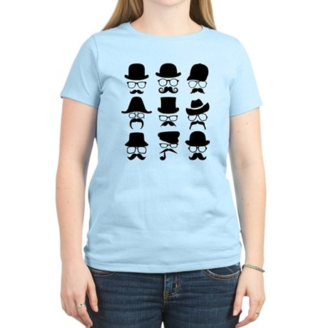 hats glasses and staches T-Shirt