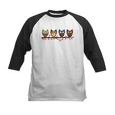Owls on a branch Baseball Jersey