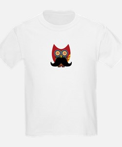 red owl with mustache T-Shirt