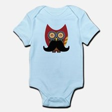 red owl with mustache Body Suit