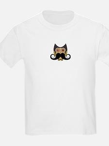 Dark owl with mustache T-Shirt