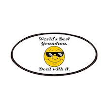 World's Best Grandma Humor Patches