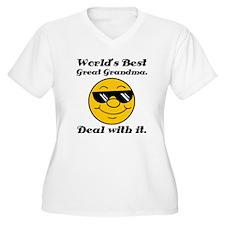 World's Best Great Grandma Humor T-Shirt