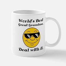World's Best Great Grandma Humor Mug
