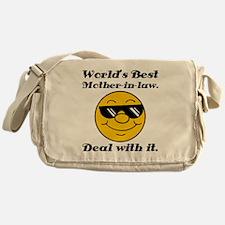 World's Best Mother-In-Law Humor Messenger Bag