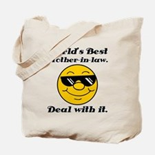 World's Best Mother-In-Law Humor Tote Bag