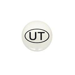 UT Oval - Utah Mini Button (100 pack)