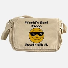 World's Best Niece Humor Messenger Bag