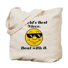 World's Best Niece Humor Tote Bag